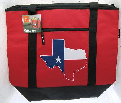Amabile Texas Stato Termiche Sporta ~50 Barattolo Borsa Da Spiaggia Con Chiusura Lampo ~
