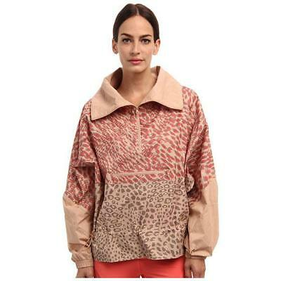 adidas Stella McCartney Essentials Starter Windbreaker Jacket 3D Animal Print