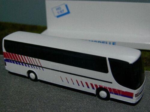 1//87 Rietze Setra 315 hdh Setra Design blanco//rojo//azul
