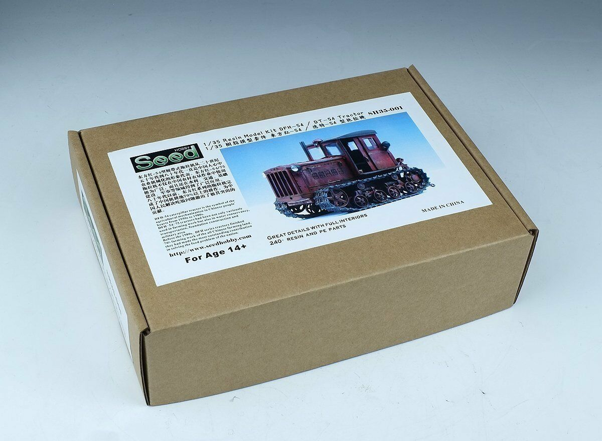 Seed Hobby 1 35 DFH-54 DT-54 Tractor Resin Kit