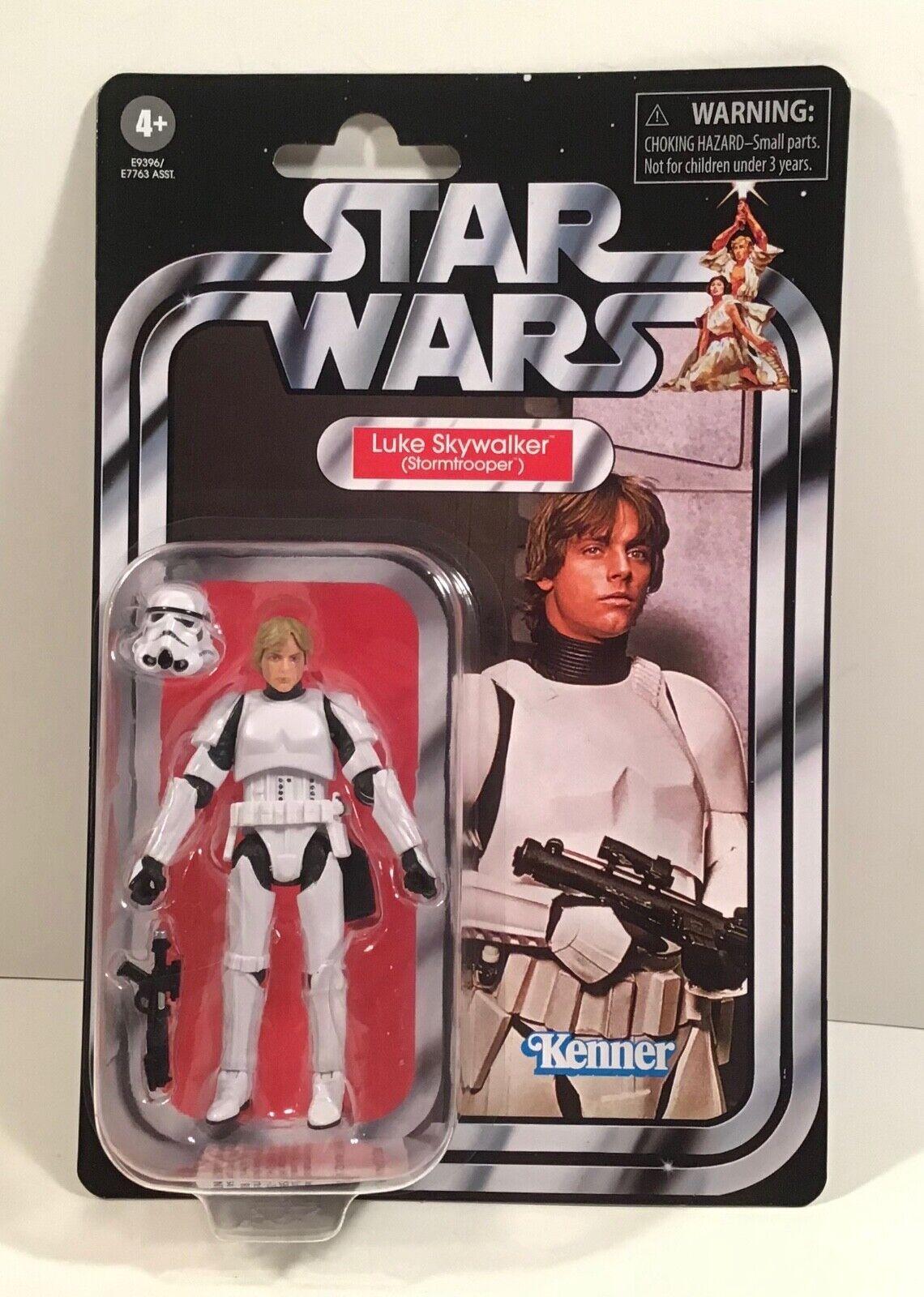 STAR Wars Luke Skywalker Stormtrooper VINTAGE COLLECTION VC169 Action Figure Nuovo