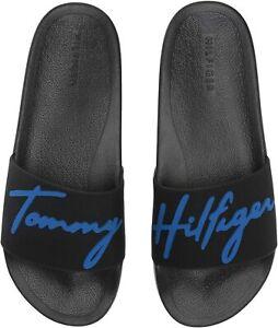 Bnew-BNEW-Tommy-Hilfiger-Men-039-s-Esquire-Slipper-Slide-Sandals-Size-11