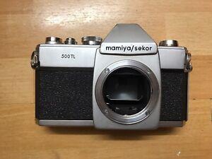 Mamiya-Sekor-500tl-35mm-SLR-Kamera-Koerper-Nur-siehe-Beschreibung