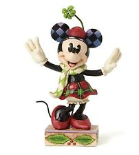 Disney Traditions Merry Minnie Mouse Ornament Christmas Resin Figurine Xmas Gift
