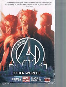 New-Avengers-Vol-3-Other-Worlds-by-Hickman-Bianchi-amp-Morales-2014-HC-Marvel-OOP