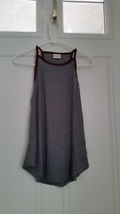 NWT-Womens-H-I-P-Nordstrom-Knit-Tank-Top-Gray-SZ-S-NWOT