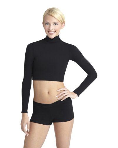 All Sizes TB107 Capezio Women/'s Turtleneck Long Sleeve Top