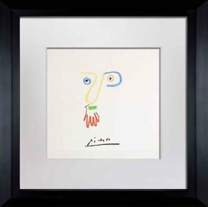 Pablo-PICASSO-Lithograph-034-Don-Bob-034-Limited-Edition-SIGNED-Cat-ref-c116