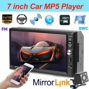 7-039-039-1080P-FHD-Car-Stereo-MP5-Player-FM-Bluetooth-Remote-SWC-Mirror-Link-w-Camera