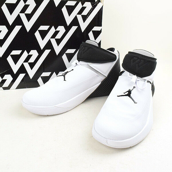 Nike Jordan Why Not Zero. 1, 2 Way, White black Mens 10,  WESTBROOK Aa2510-110