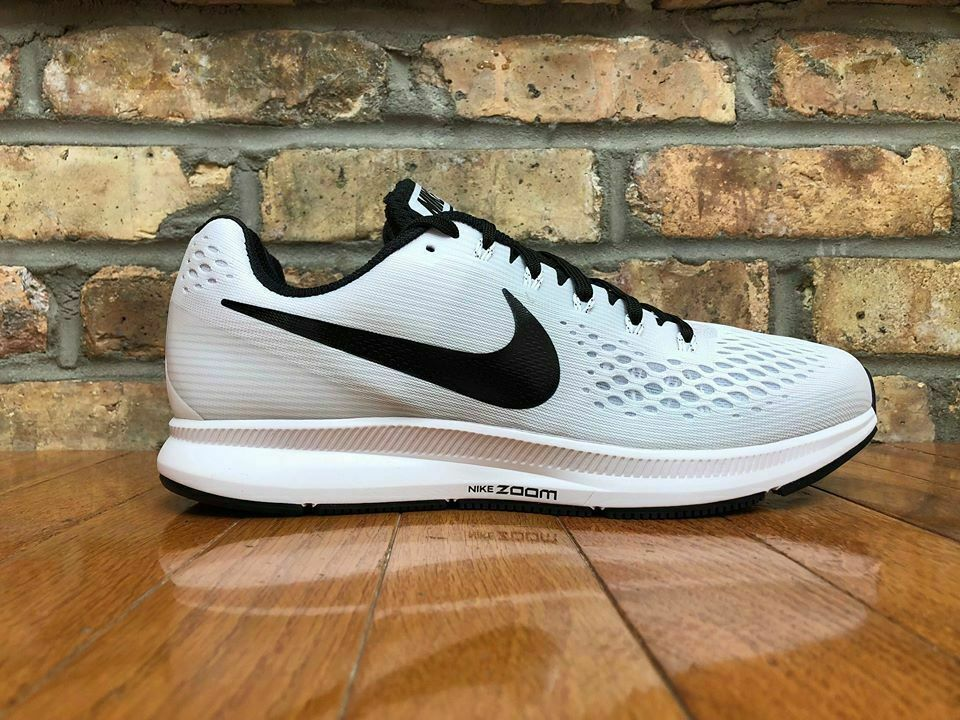 Mens Nike Air Zoom Pegasus 34 TB 887009-100 White Black Black Black NEW Size 12 4682f3
