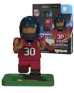 KEVIN JOHNSON #30 HOUSTON TEXANS G3LE OYO MINIFIGURE NEW FREE SHIPPING
