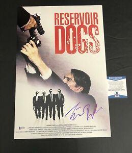 TIM ROTH SIGNED 12X18 RESERVOIR DOGS POSTER AUTOGRAPH PHOTO BECKETT BAS COA 2