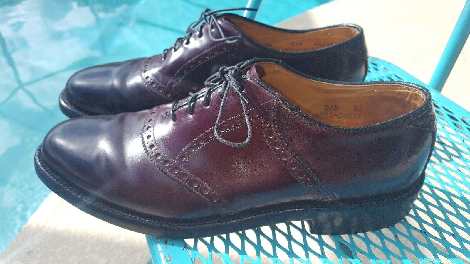 offerta speciale Vintage Shell Cordovan Nettleton Saddle scarpe Dress Dress Dress Plain Toe Oxford. Dimensione 9.5D  solo per te