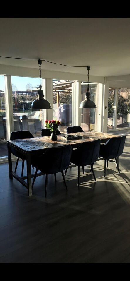 Spisebordsstol, Velour, Nordal – dba.dk – Køb og Salg af Nyt