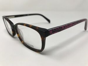 e7fb7c9098b Guess Eyeglasses GU9158 052 Dark Tortoise Purple 46-15-130mm Full ...