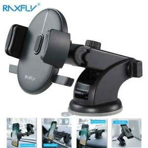 RAXFLY-Windshield-Mount-Car-Stand-Holder-For-Samsung-Plus-iPhone-X-Phone-AU