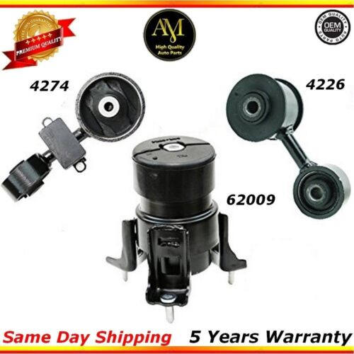 Engine Motor Mounts Front Torque Set For 07//09 Toyota Camry 2.4L Japan Built