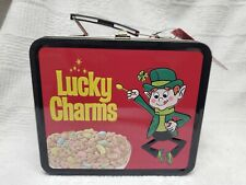 Trix and Lucky Charms Loungefly Metal Lunch Box  New With Tags Rabbit Leprechaun