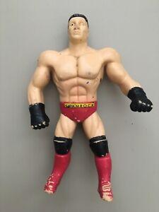 Ken-Shamrock-Wrestling-Toy-Figure-5-Bend-Ems-WWE-WWF-Just-Toys-1996-Rare
