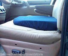 Orthopedic Travel Car Seat Wedge Cushion 15 X 14 In. Blue Washable Cover