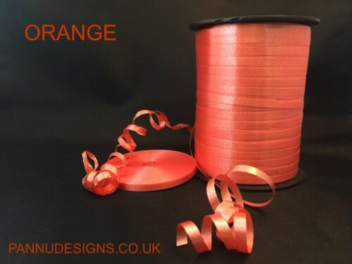 WHOLESALE 500 METER ORANGE COLOUR CURLING RIBBON BALLOON HELIUM BIRTHDAY PARTY