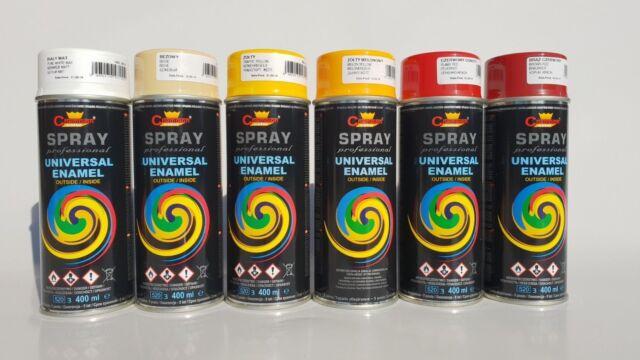 Peinture en aérosol bois/métal/voitures Color Spray Laque Bricolage DIY 400ml