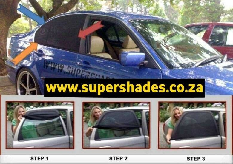 Car Window Shades for kids. Allows you to open the windows. Save R99 ★★