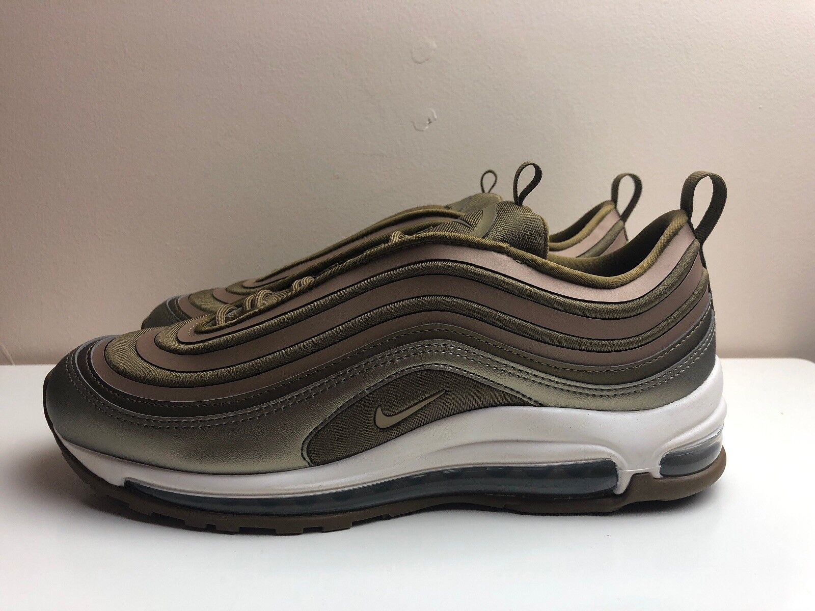 Nike W Air Max Max Max 97 Ultra 17 Trainers Gold UK 6.5 EUR 40.5 917704 901 d3172e