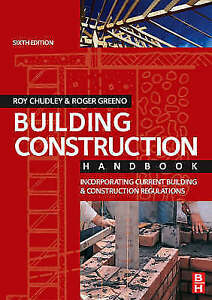 Details about Building Construction Handbook: sixth edition P D F