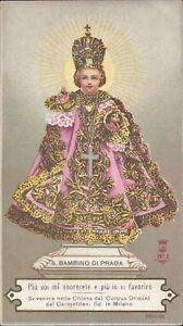Prag-Jesus-Nino-Cuadro-Santos-Amria-Imagen-Milagrosa-Bohemia-Koloriert-B-6676