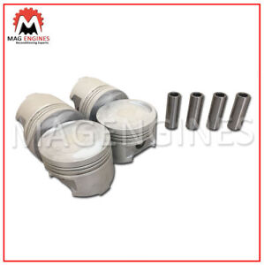 Pistons and Rings Fits 93-96 Mitsubishi Mighty Max 2.4L SOHC 8v