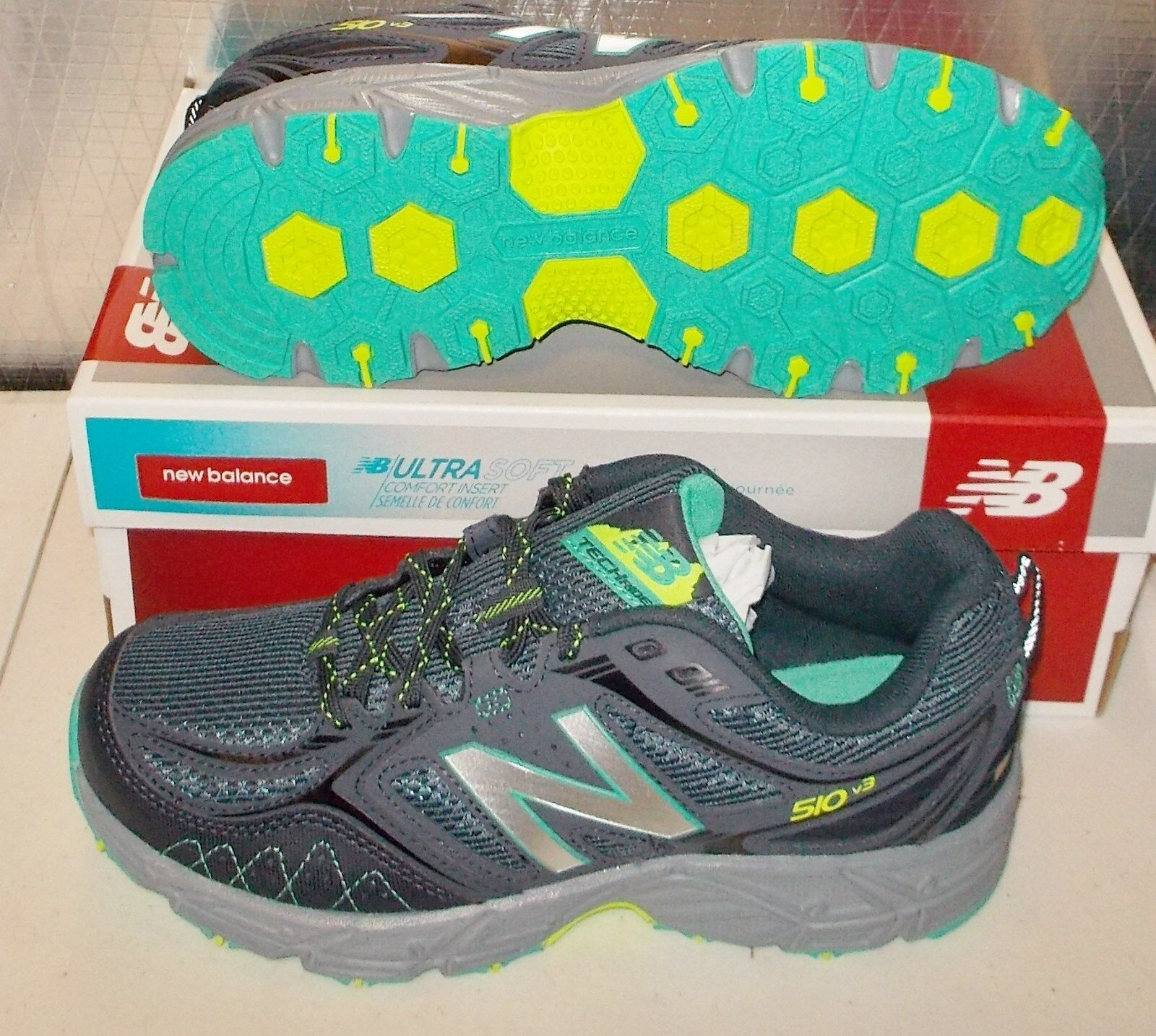 NEW BALANCE 510 510v3 Womens D WIDE WIDE WIDE WIDTH Trail Running WT510LB3 NEW a9c8eb