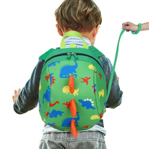 Toddler Baby Boys Girls Mini Backpack Cartoon Dinosaur School Bag Rucksack 520