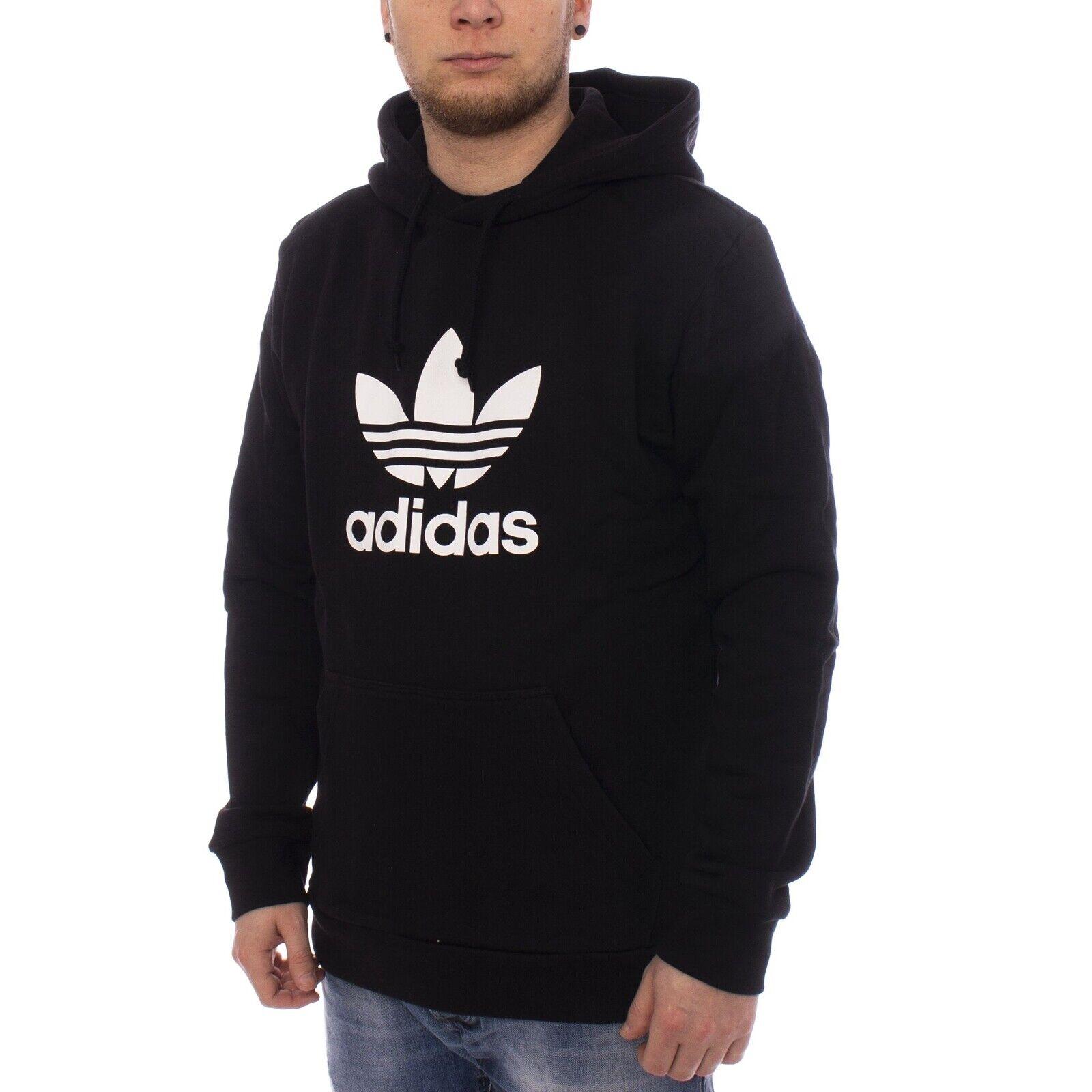 Adidas Trefoil Hoodie Herren Kapuzenpullover schwarz 34703