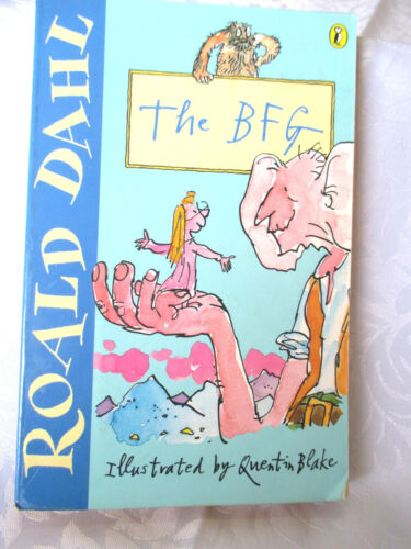 1 of 1 - ROALD DAHL The BFG illus by Quentin Blake paperback