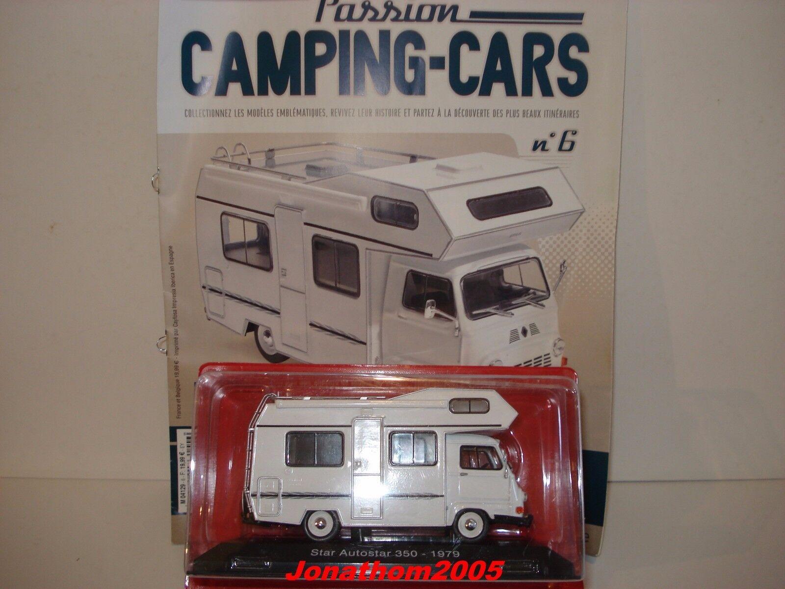 PASSION CAMPING CARS - AUTOSTAR 350 RENAULT C COURIER - FRANCE 1979 au 1 43°
