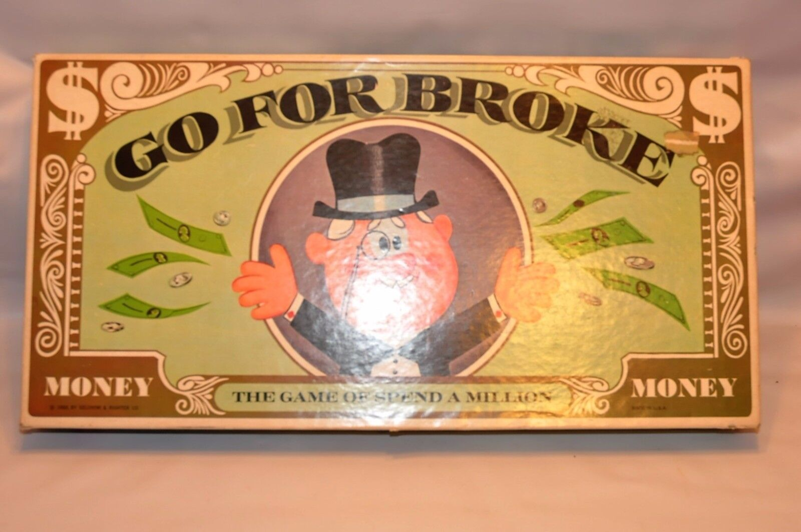 Vintage Go for Broke Selchow & Righter Company  1965 (2)