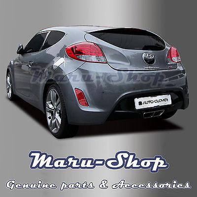 Chrome Fuel Gas Filler Door Cap Cover Trim for 11~ Hyundai Veloster