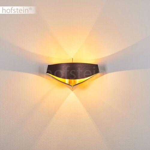 Wand Lampen braun//goldfarben Wohn Schlaf Zimmer Flur Dielen Beleuchtung modern