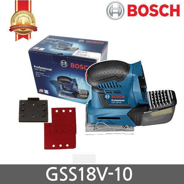 BOSCH GSS 18V-10 PALM Sander (Body Only) Niedrig Vibration Orbital v_e