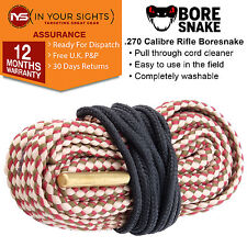 7mm & .270 / .280 / .284 Calibre rifle Bore Snake cord / Boresnake cleaner cord