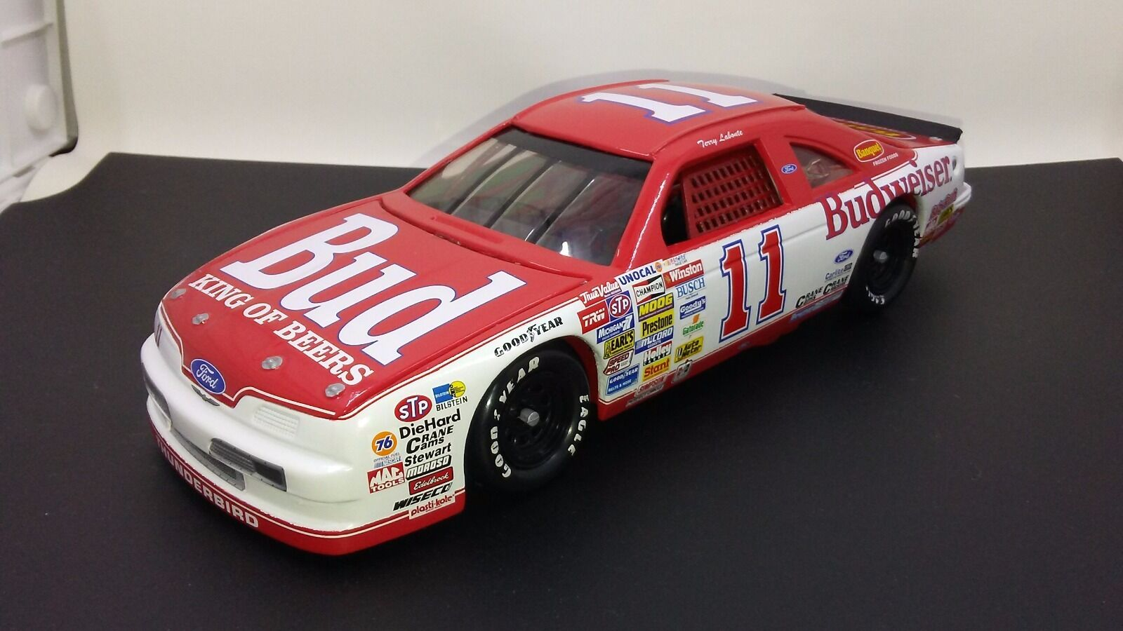 RARE 1989 Terry Labonte Nascar Winston Cup Series  11 Budweiser 1 24 Diecast
