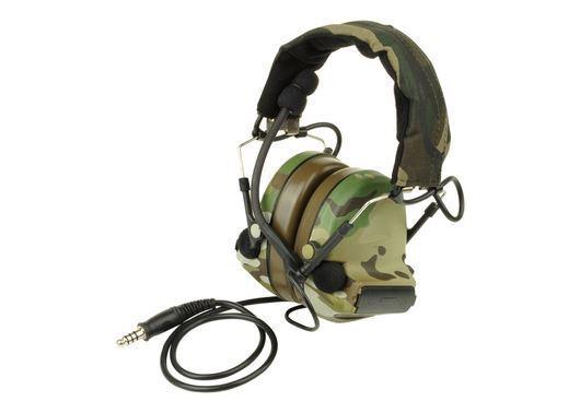 a2001ecabe1 Airsoft ZTactical zSordin Headset Mic Boom Radio Peltor Comtac 2 Multicam  MTP MC for sale online | eBay