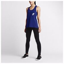 44a787dd48169d Women s Dark Blue Nike Logo One Pocket Tank Top Sz L 848977 455 for ...