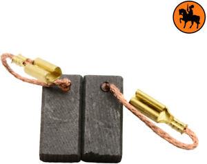 100% De Qualité Balais De Charbon Pour Aeg Meuleuse Wse8-125mx - 5x8x16,5mm