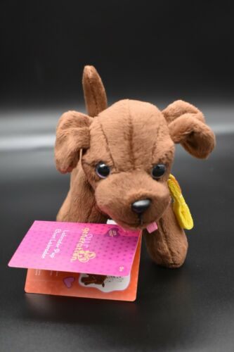 """Our Generation CHOCOLATE LAB ~ Puppy Dog Fits 18"""" Dolls Vet NEW"""