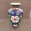 thumbnail 1 - Chinese Exquisite Handmade copper Cloisonne Enamel Vase