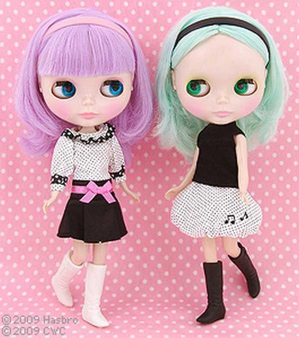 Neo Blythe Doll Simply Peppermint&lilac F S