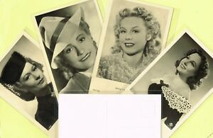 ROSS-VERLAG-1940s-Film-Star-Postcards-produced-in-Germany-A3021-to-A3100